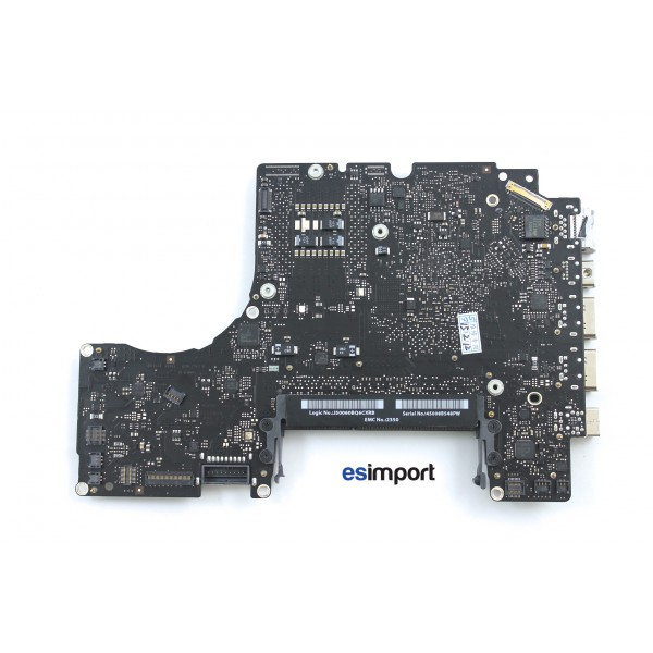 logic board carte m re macbook pro 13 pouces a1342 motherboard logic board. Black Bedroom Furniture Sets. Home Design Ideas