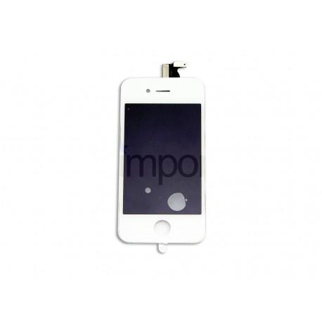 Face avant complète blanc iphone 4