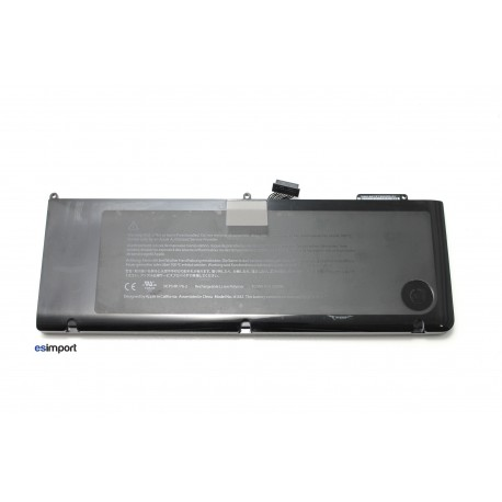 batterie Unibody MacBook Pro15 A1286 modèle 2011 2012 A1382