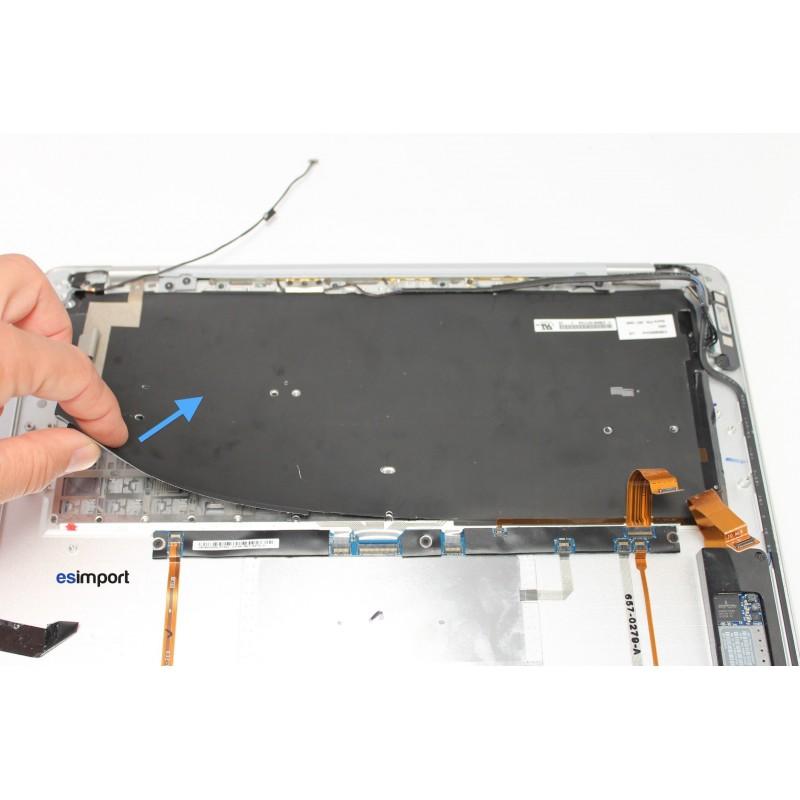 changement clavier simple macbook air a1237 2008 13 pouces oxydation topcase. Black Bedroom Furniture Sets. Home Design Ideas