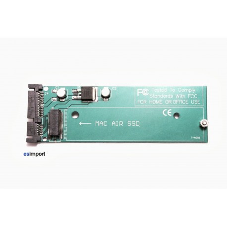 """adaptateur SSD macbook Air 11"""" 13"""" fin 2010 - SATA"""