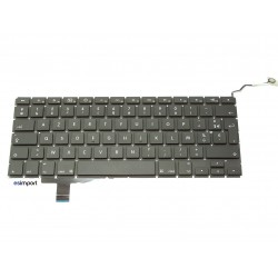 "clavier UK macbook pro unibody 17"" A1297 reconditionné"