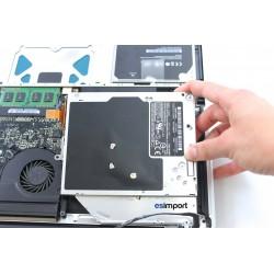 """Tuto changement lecteur optique MacBook 15"""" A1286 2008"""