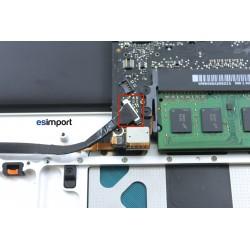 """Tuto changement câble disque dur MacBook 15"""" A1286 2008"""