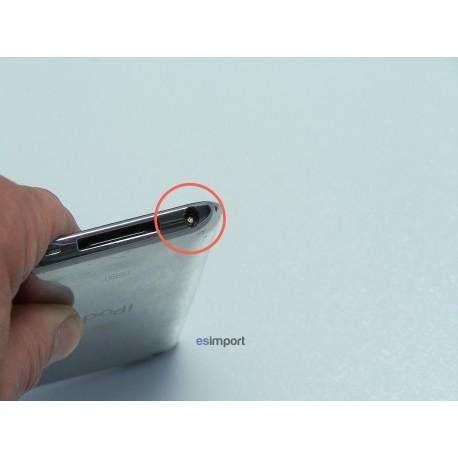 tuto extraction morceau de jack coincé dans un ipod touch