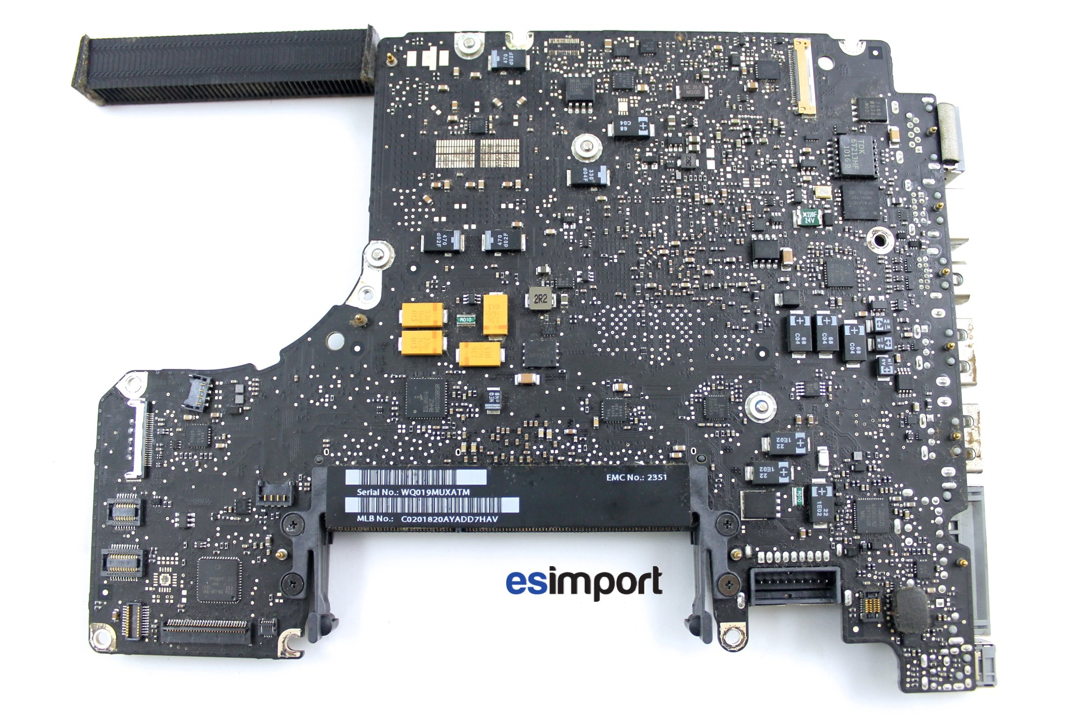 carte mere macbook pro Carte mère reconditionnée pour MacBook Pro 13