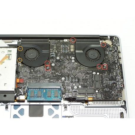 changement carte m re i7 2 4ghz macbook pro a1286 vente et r paration mat riel apple esimport. Black Bedroom Furniture Sets. Home Design Ideas