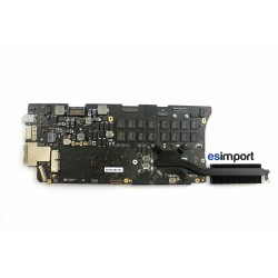 Carte-mère macbook retina A1502 Fin 2013 2,4Ghz i5 8Go RAM reconditionnée