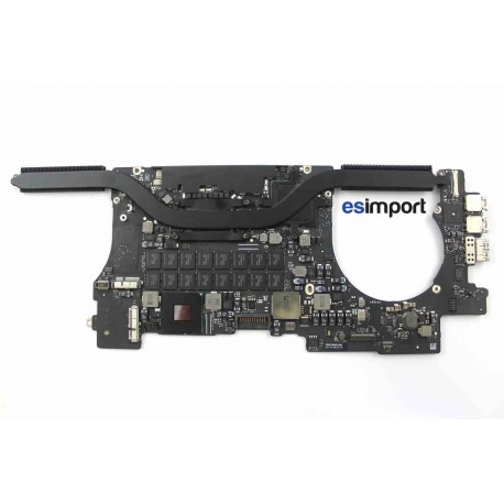 Carte-mère macbook retina A1398 Mi 2012 2,6Ghz i7 16Go RAM reconditionnée