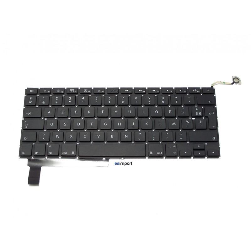 clavier de rechange macbook pro 15 unibody francais macbook pro unibody a1286 15 2009 2011