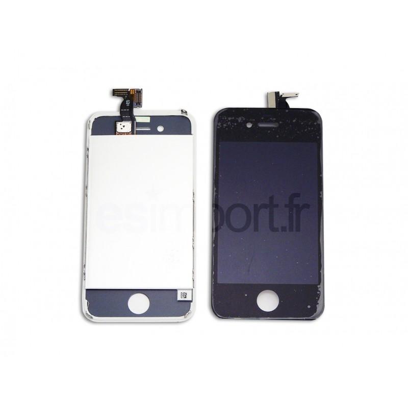 Cran iphone 4 fa ade lcd et tactile r parer vitre for Photo ecran iphone 4