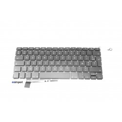"clavier FR macbook pro A1286 unibody 15"" 2008 reconditionné Grade A"