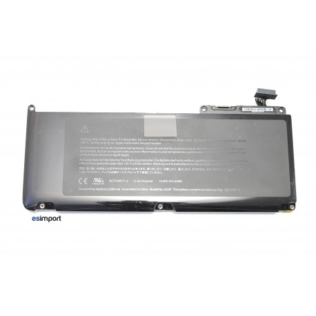 "batterie macbook 13"" unibody blanc polymère"