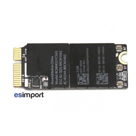 carte wifi bluetooth macbook pro 15 retina A1398